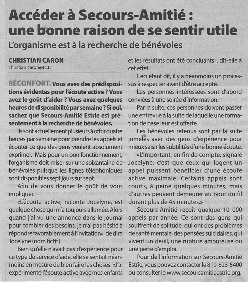 article-du-journal-Sherbrooke-Express